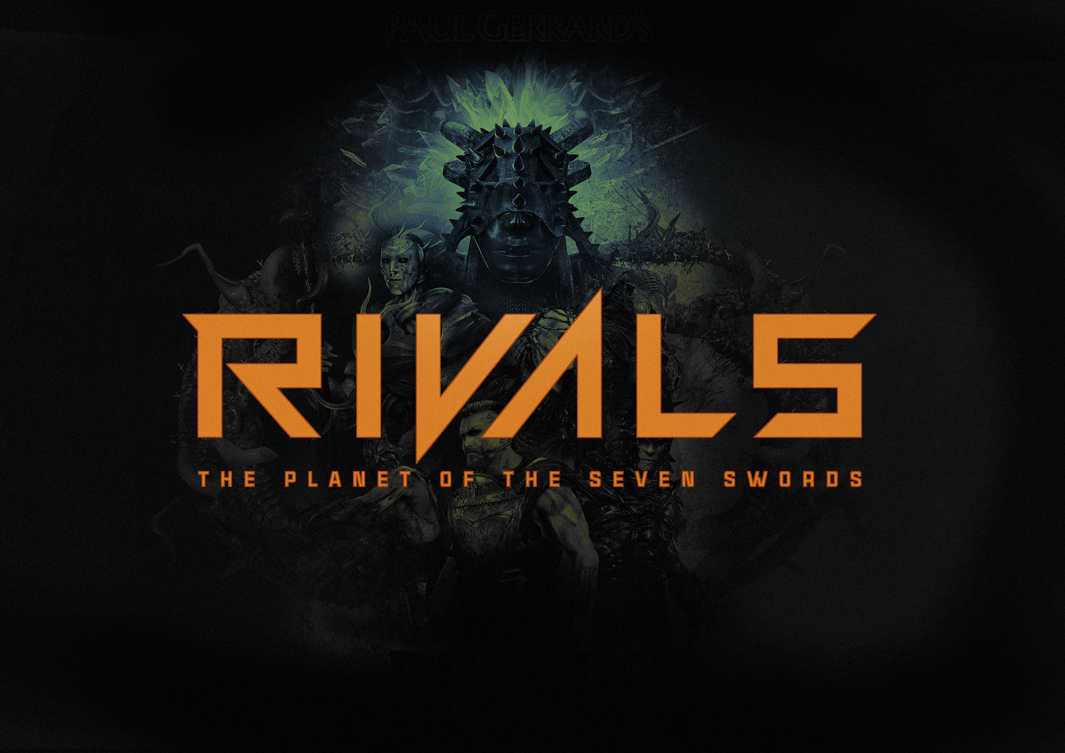 Title:  RIVALS: The Loyalty of Sago Astar GRAPHIC NOVEL  Status: 16 PAGE INTRO IN DEVELOPMENT.  Title:  RIVALS: The Planet of the Seven Swords TV SHOW Status: PITCH DEVELOPMENT. Email  to request pitch deck.