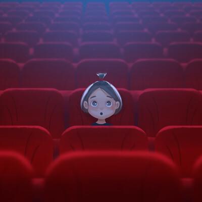 Mahsa ghasemi the cinema