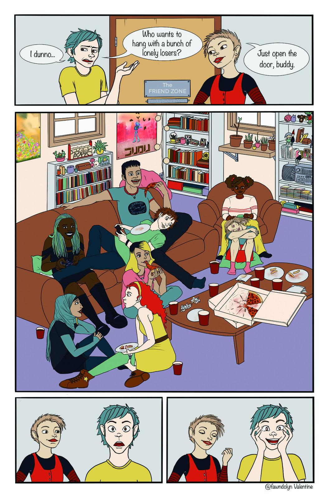 Friend Zone Comic