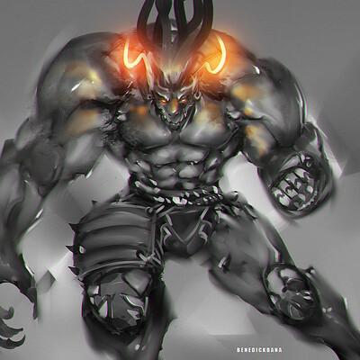 Benedick bana beast warrior final