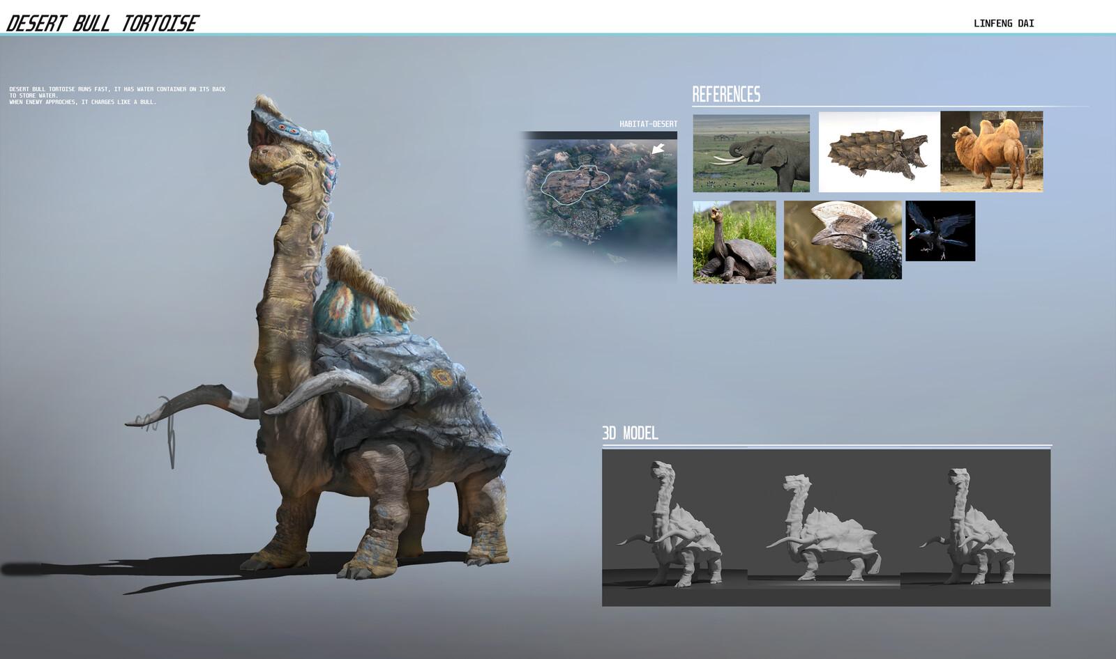 Desert Bull Tortoise_L534