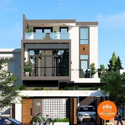 Neohouse architecture mau nha biet thu pho 3 tang 1