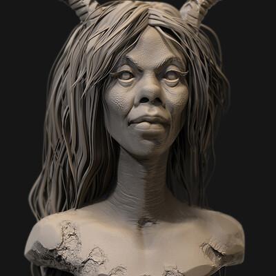 Surajit sen maliina digital sculpture surajitsen may2020a l