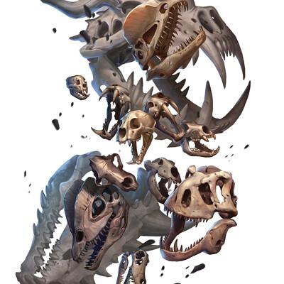 Gunship revolution clacking skulls swarm savage