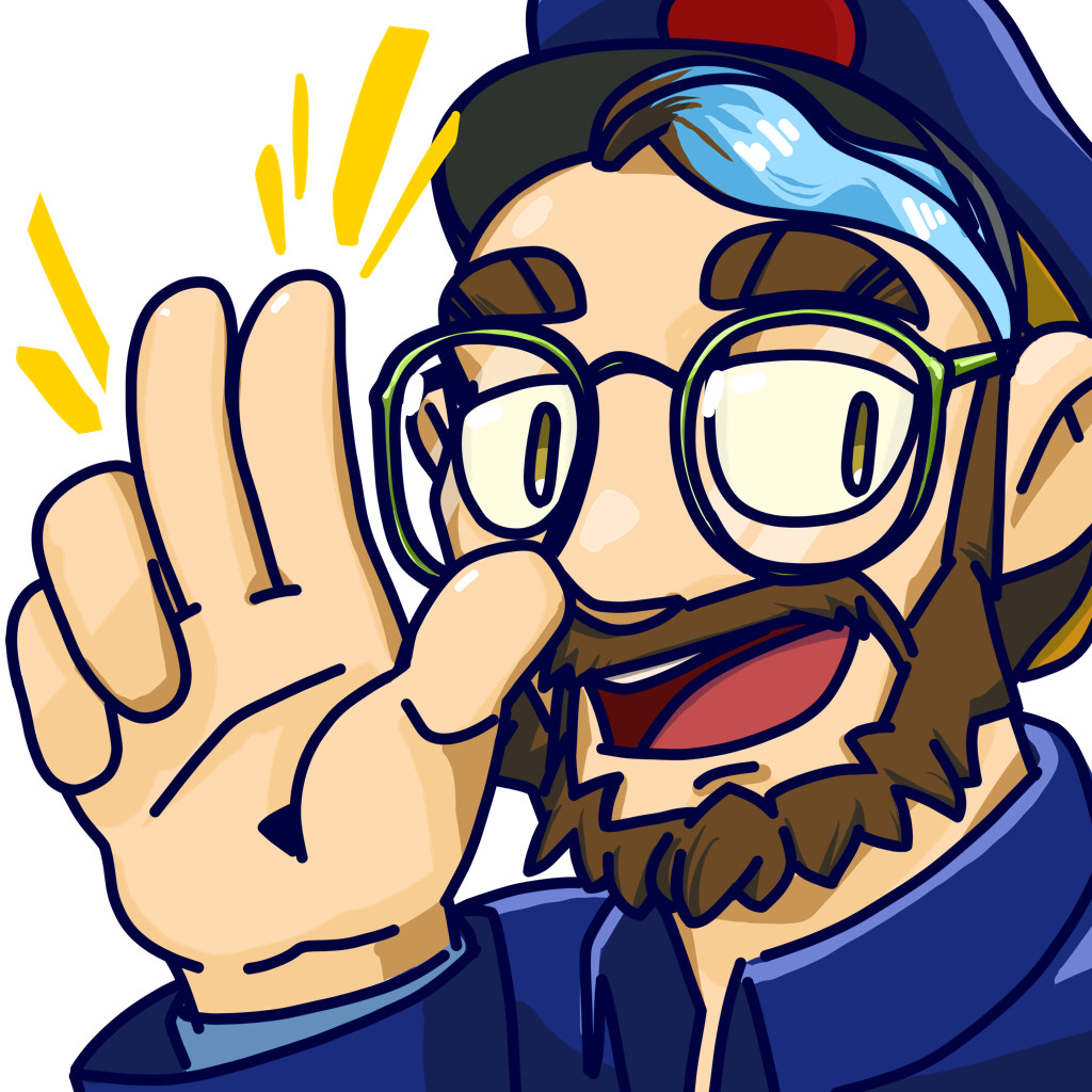Wave Emote Design for my own streams