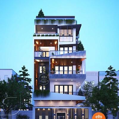 Neohouse architecture thiet ke nha pho chieu rong 7m dep 1