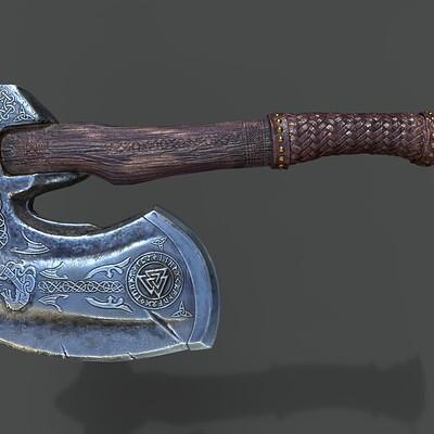 Koushik routh axe render v00