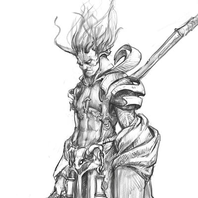 Mikhail palamarchuk god of spear 2 2