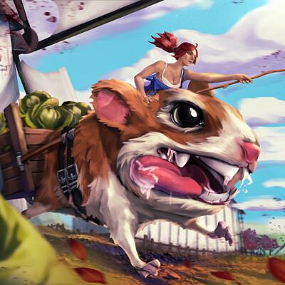 Pawel marchwicki farm hamster 004