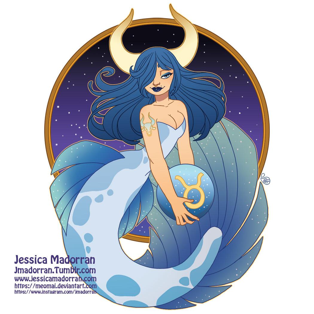 Patreon - May 2021  - Zodiac Mermaid- Taurus