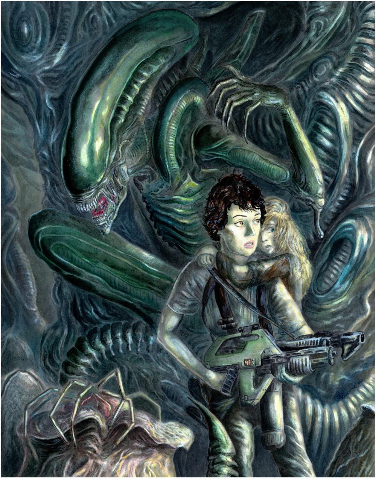 Aliens - Ellen Ripley  (30th Anniversary)
