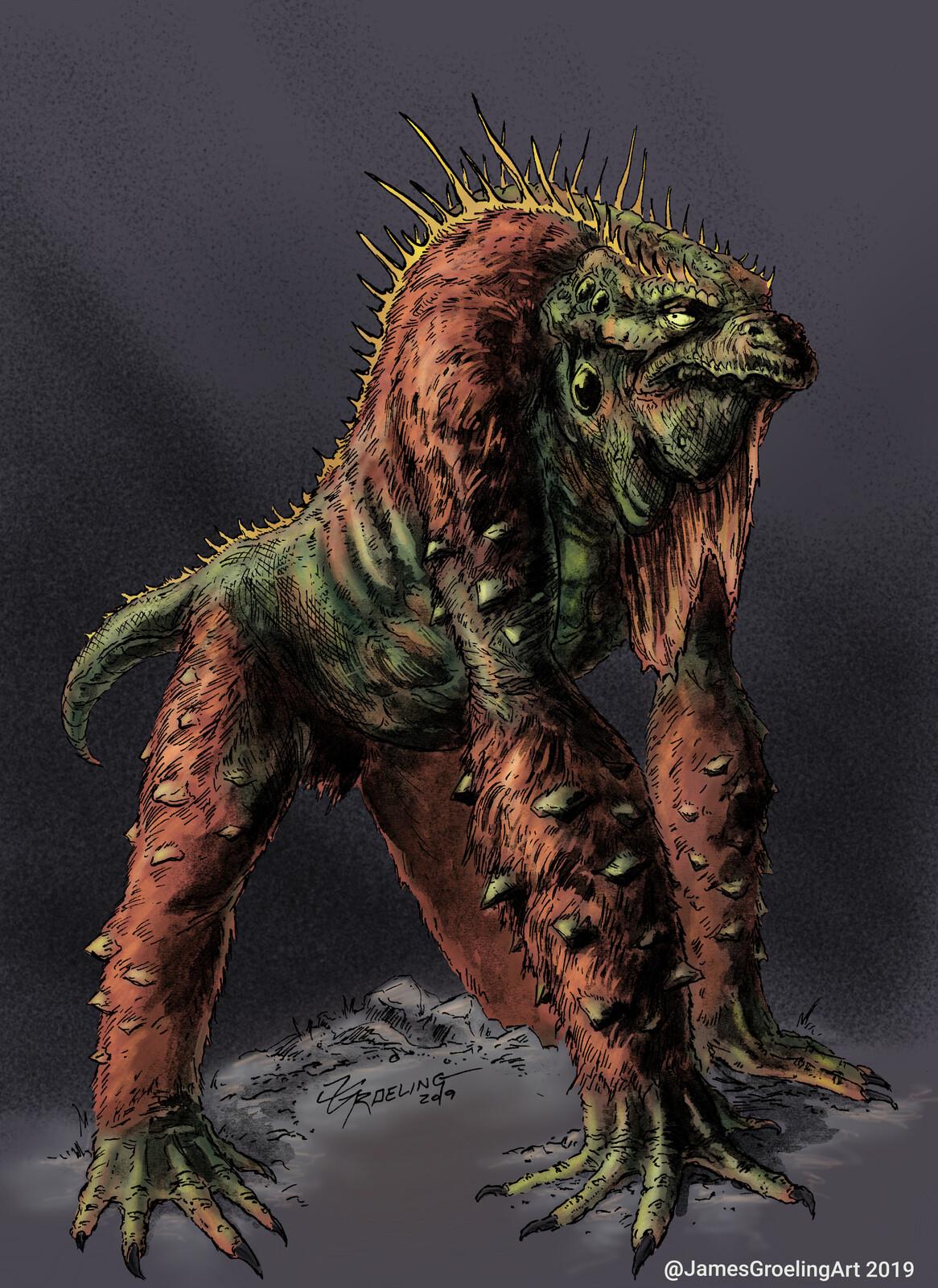 Reptilian Ape