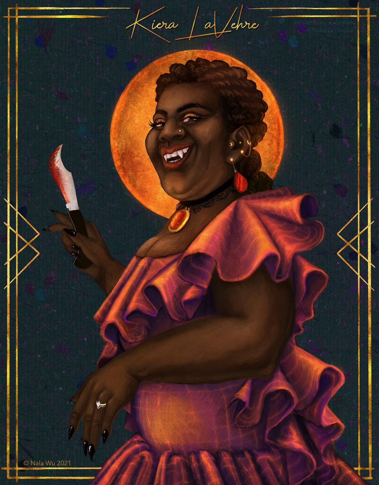 Character Illustration — Kiera LaVehre