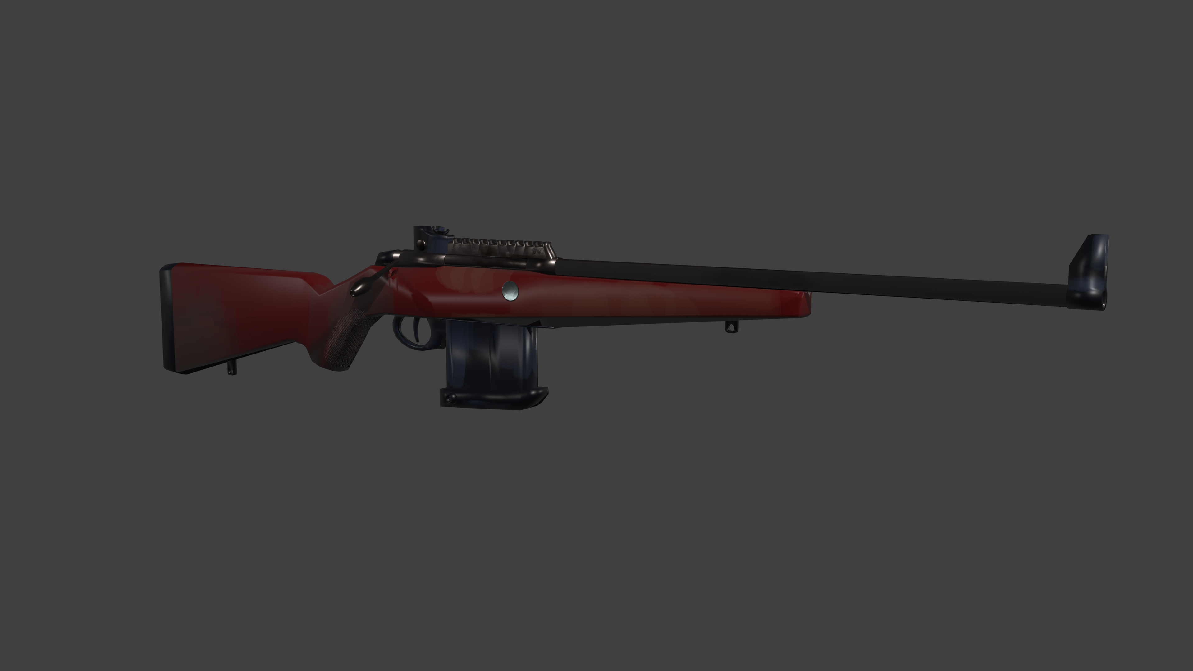 Tikka t3x Arctic Rilfe. Doesn't have its usual tricolor stock finish though.