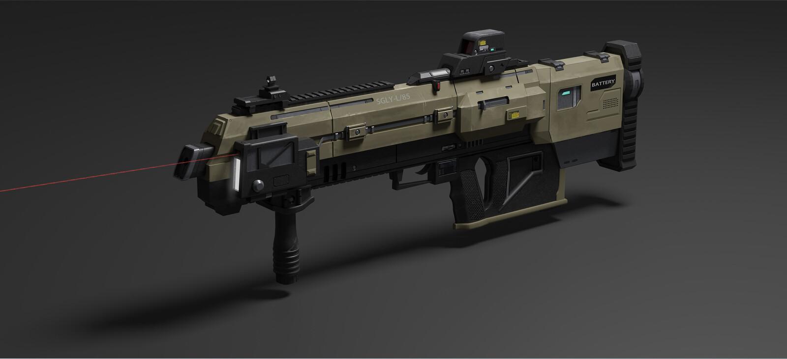 L534 Scout Weapon Design