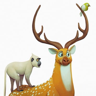 Arjun somasekharan deer3