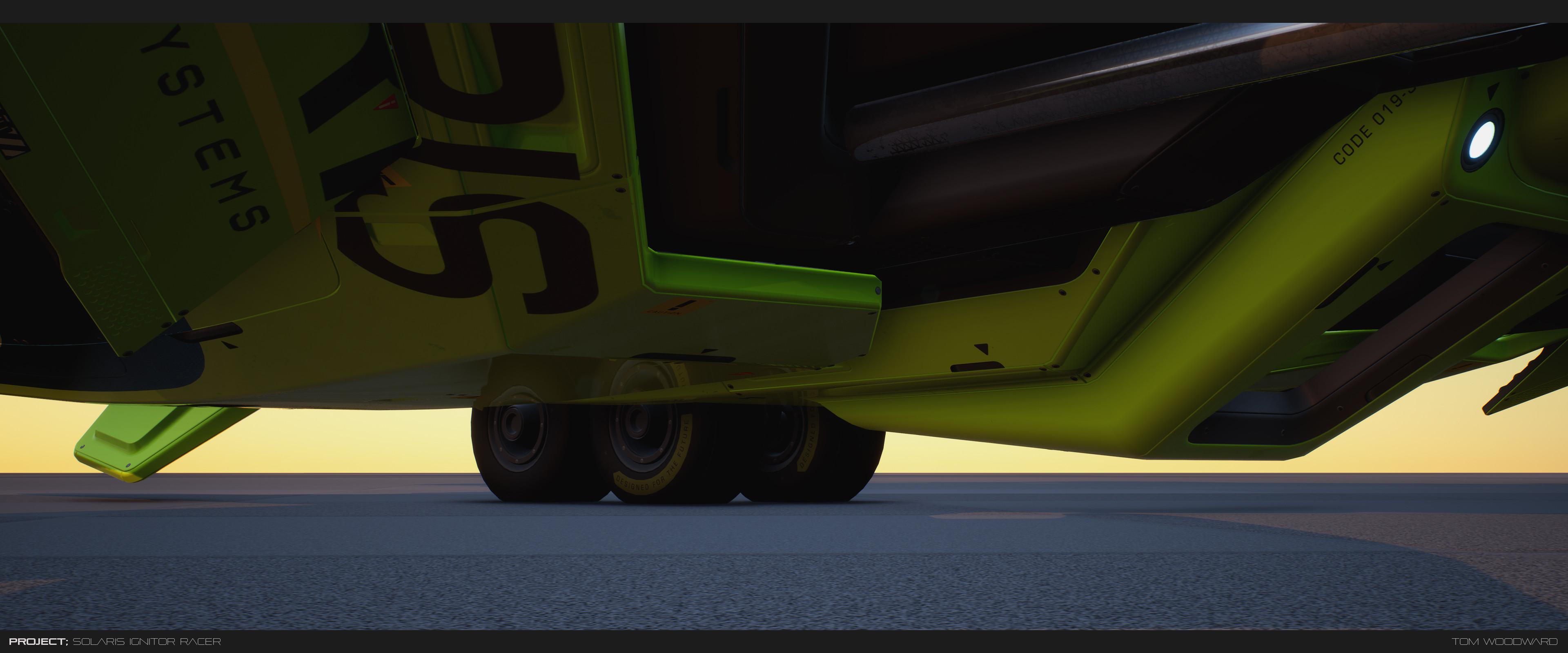 underside wheels