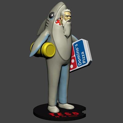 Joseph bradascio tesd shark 3