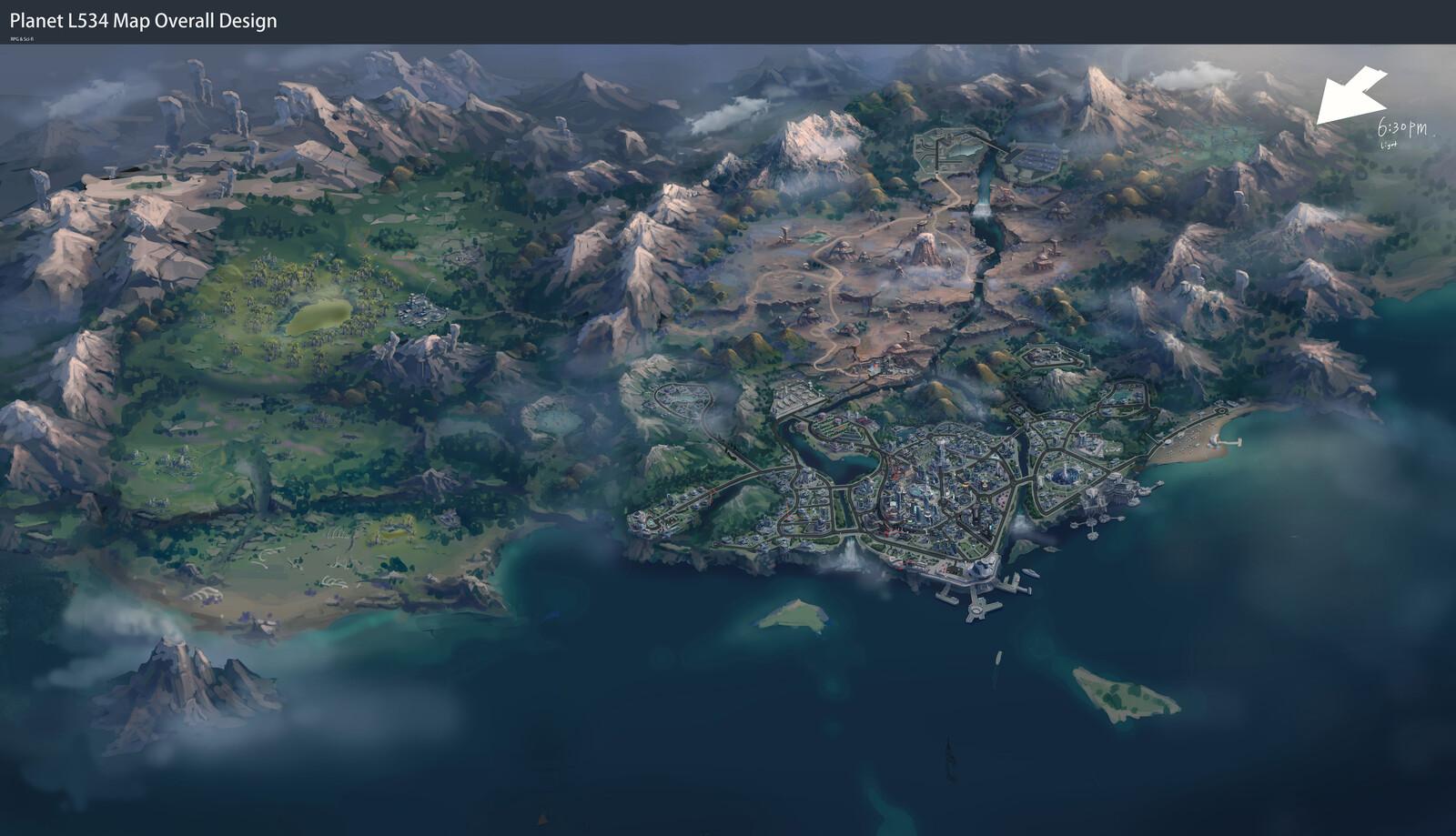Scifi_RPG_L534 Map Design
