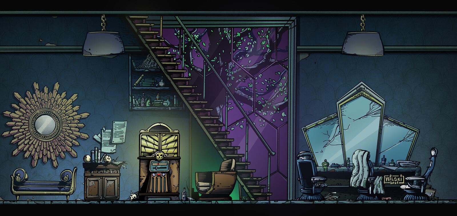 Occultputer pt.2 - Living room