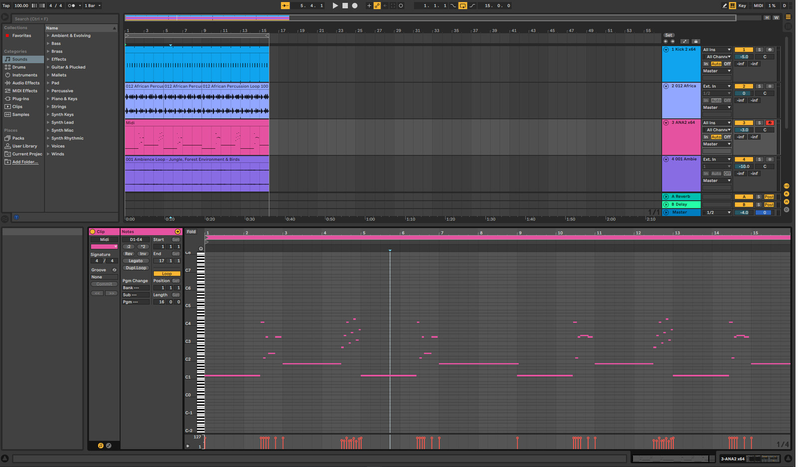 """Track was re-mixed in Ableton. The base track is called """"Strand"""" by Stephan Bodzin.    (Link Bellow)"""