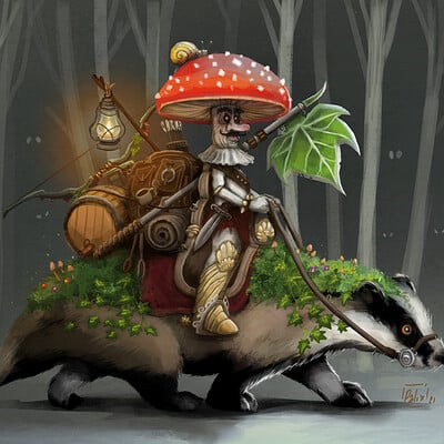 Philippe palacin cdchallenge mushroom final
