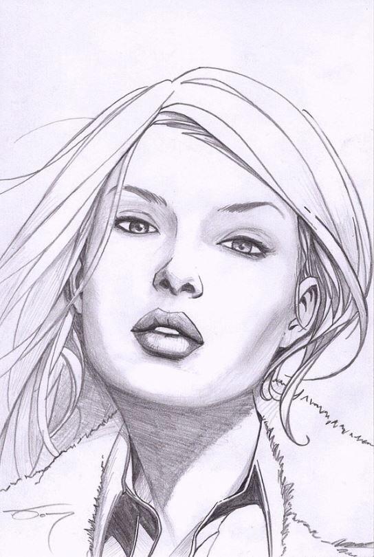"""4x6"""" Pencil Sketch"""