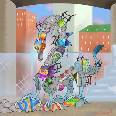 Robyn carlisle graffitti dragon