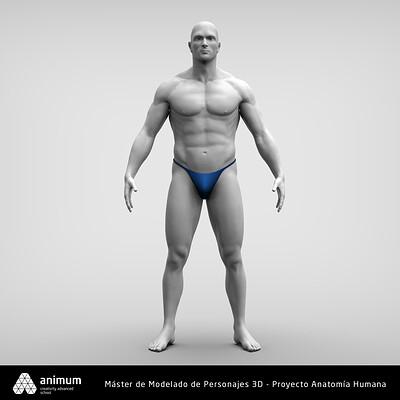 Alan alvarizaes modelado 3d anatomia alan alvarizaes 07
