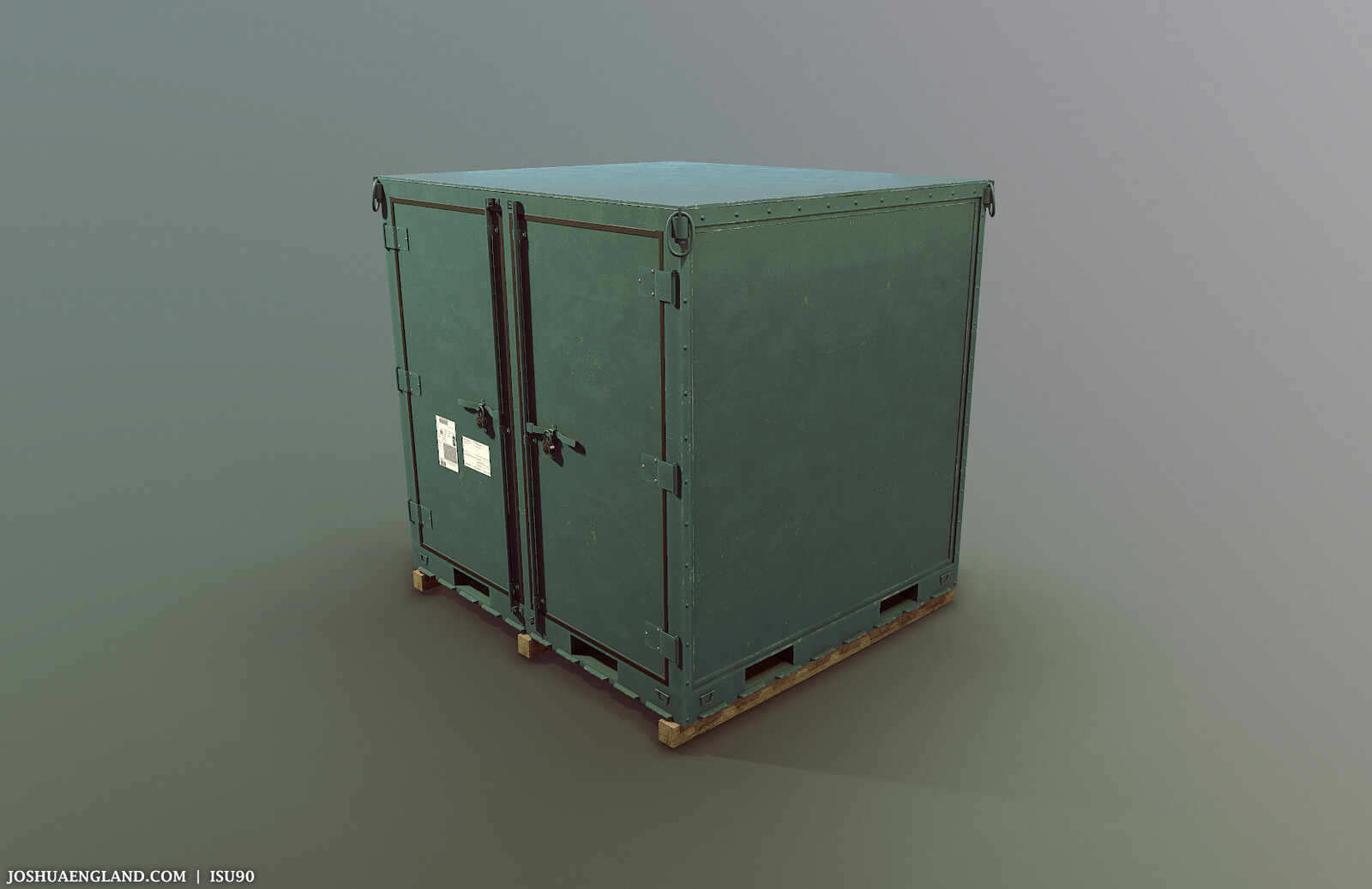 ISU90 with Equipment   /   55,894 Triangles   /   4 Materials