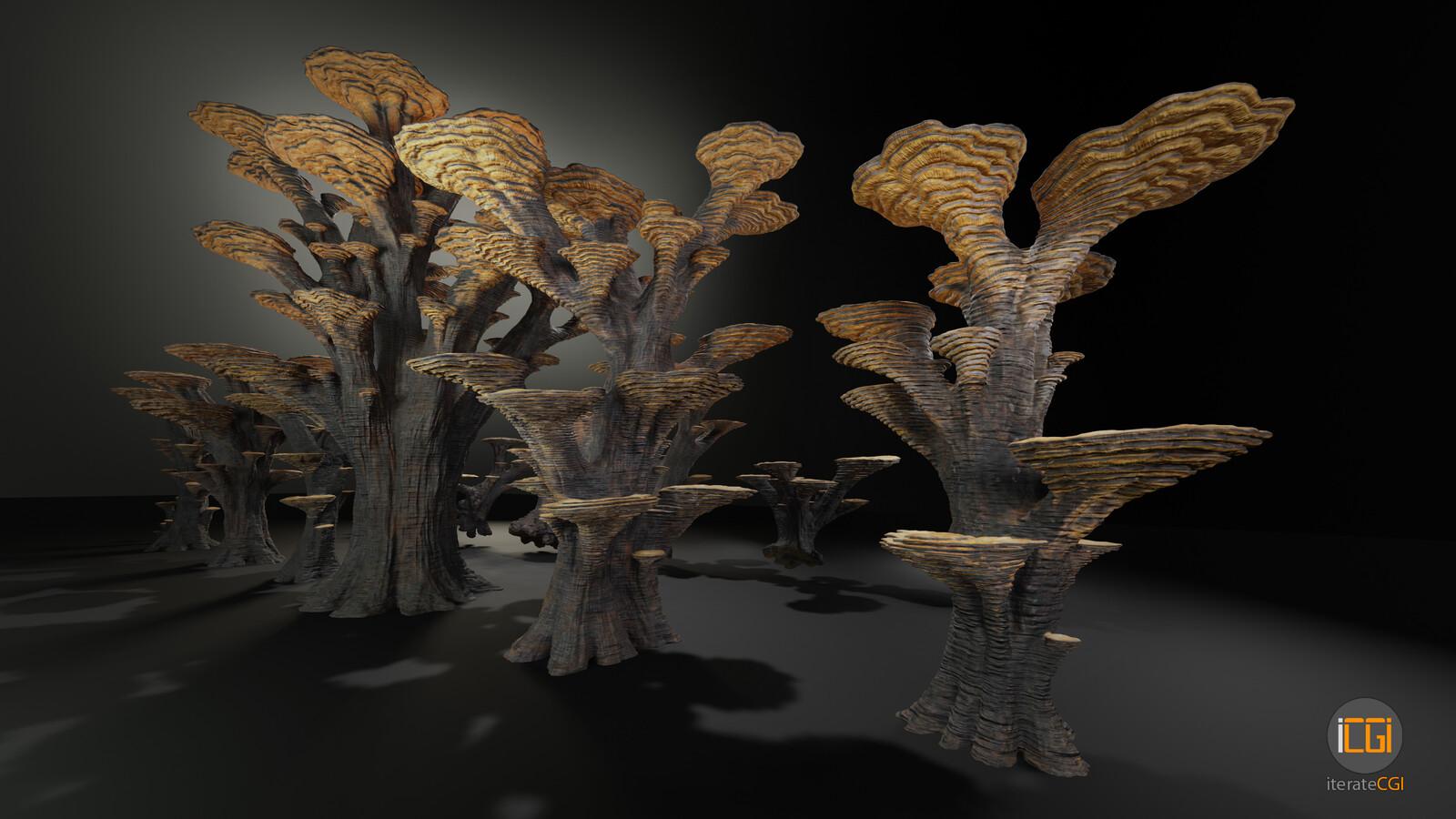 Alien Plant Mushroom Type3