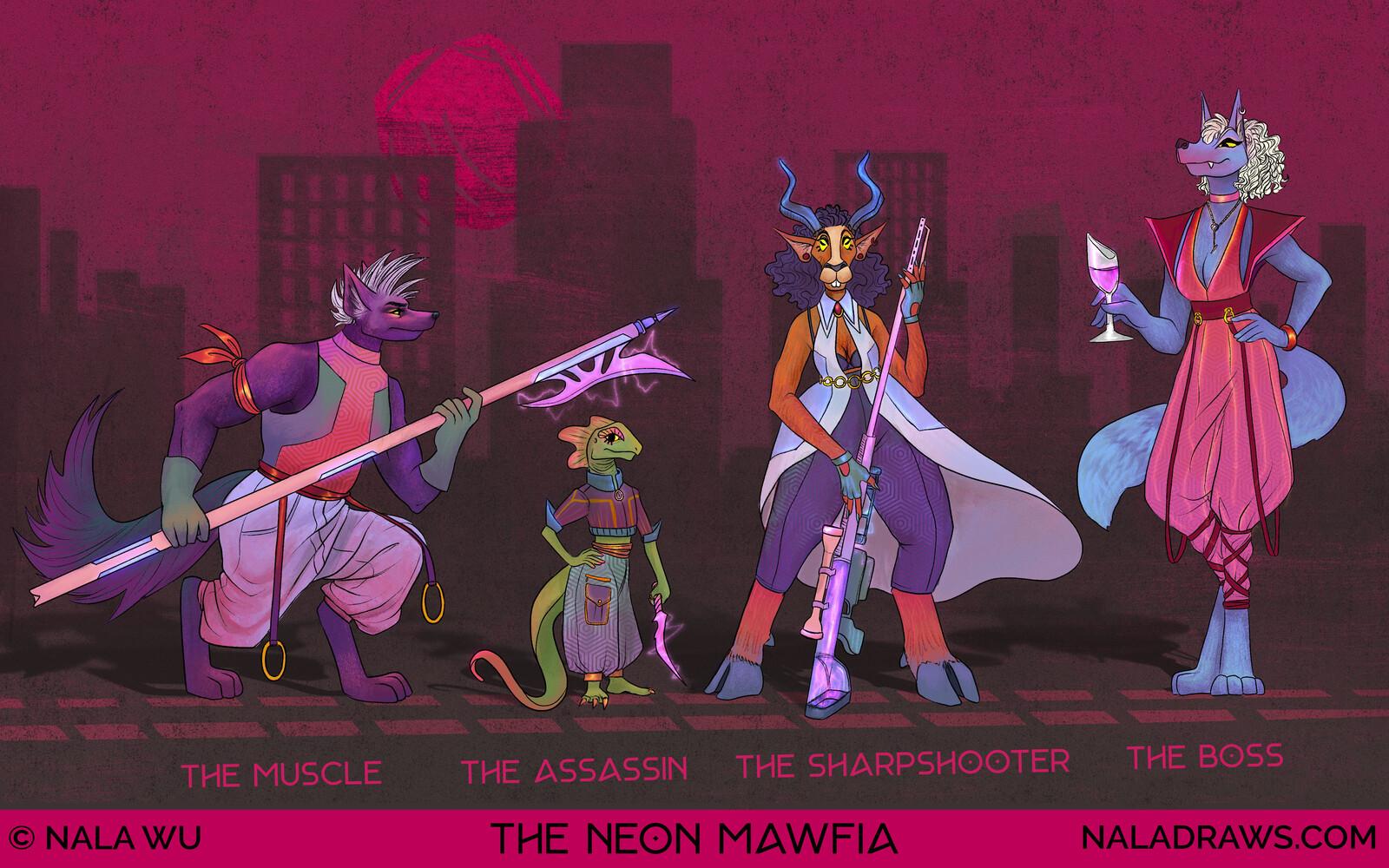 The Neon Mawfia