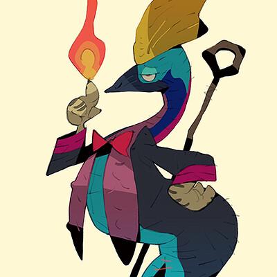 Satoshi matsuura 2021 03 26 cassowary conjurer s
