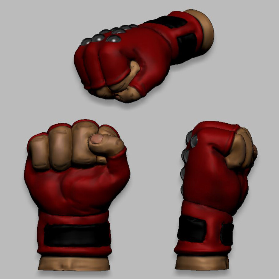 Kazuya Fist model