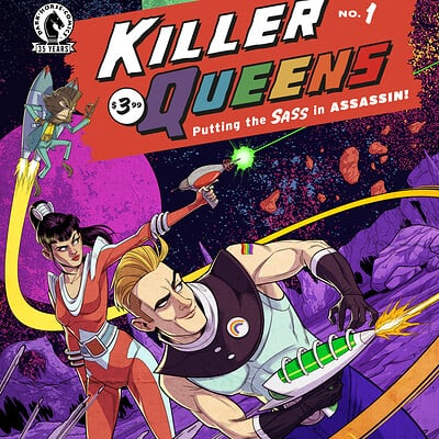 Chris ables killer queens issue 1 variant cover