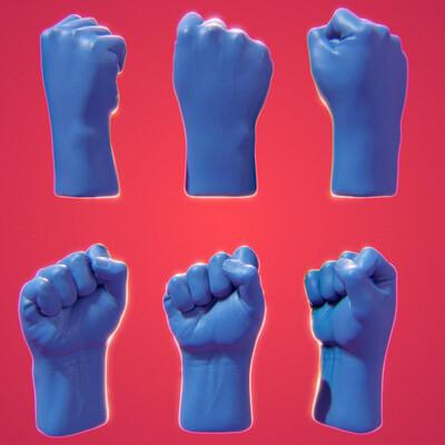 Carlos cid hand01 fist