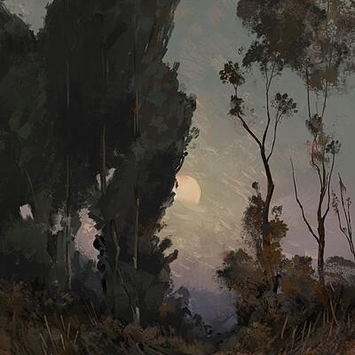 Giorgos tsolis landscape study ii giorgostsolis