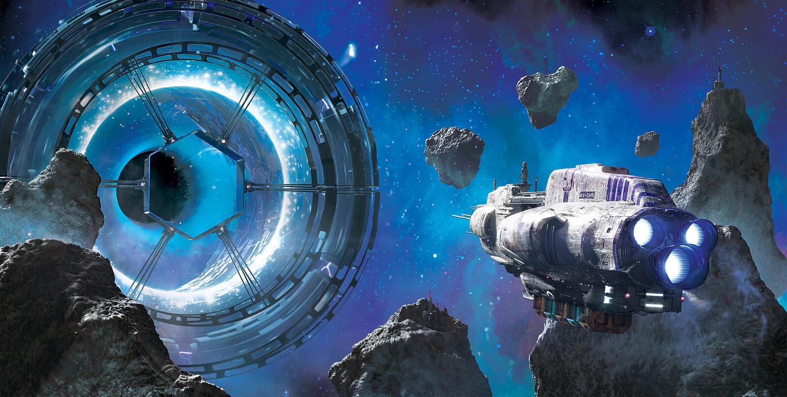 Spaceship Album Covers