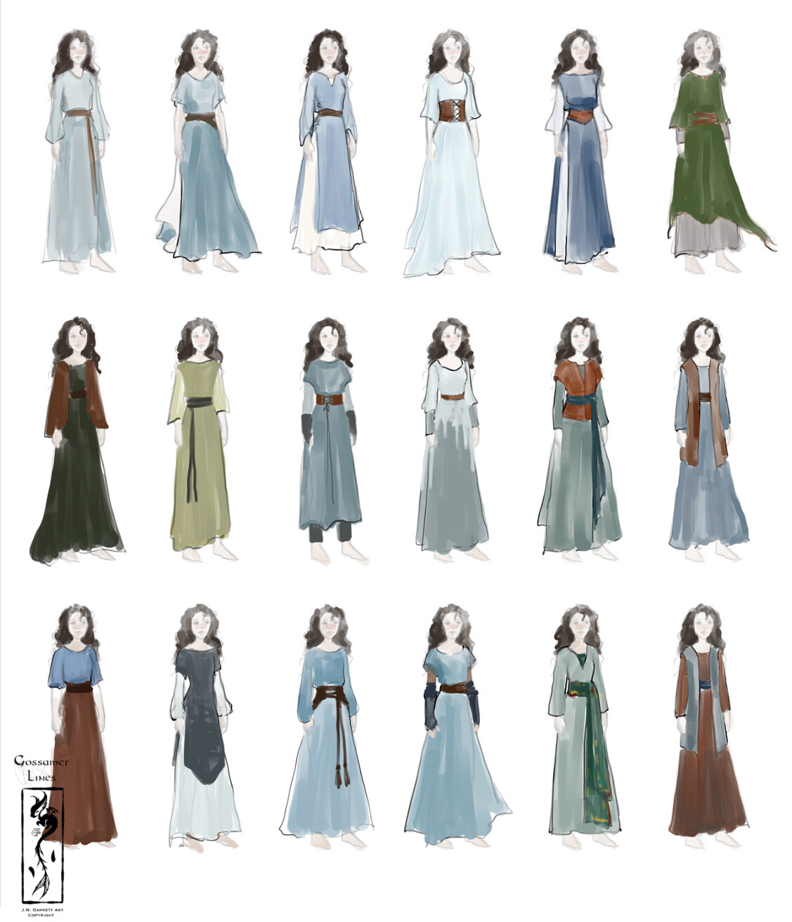 Naddie Costumes