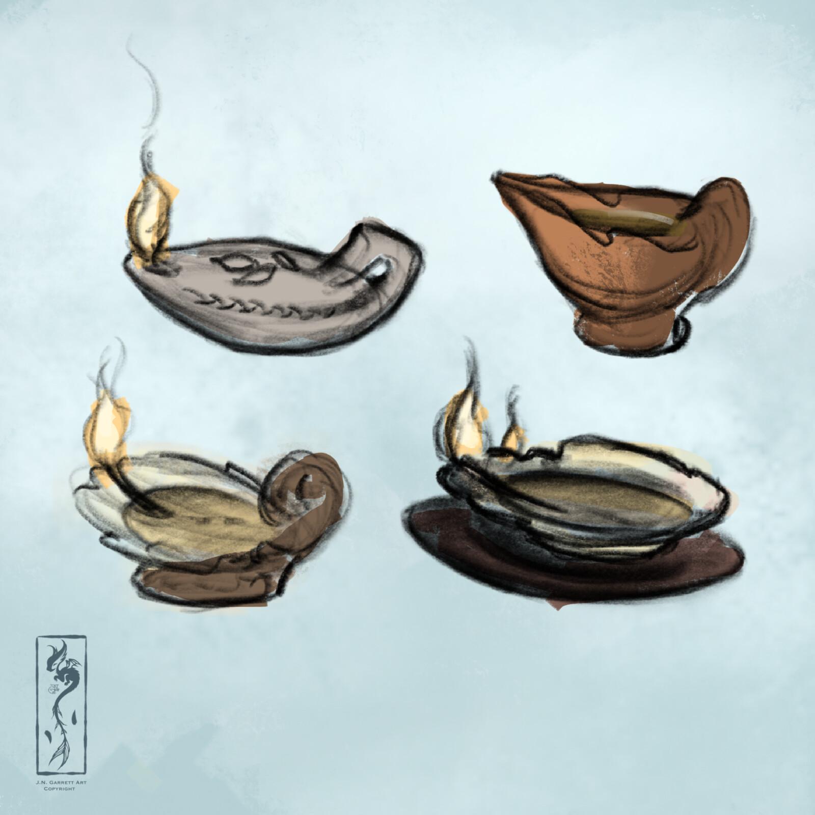 Oil Lamp Concepts