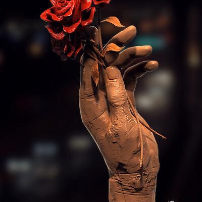 Surajit sen branch of love digital sculpture surajitsen may2021a l