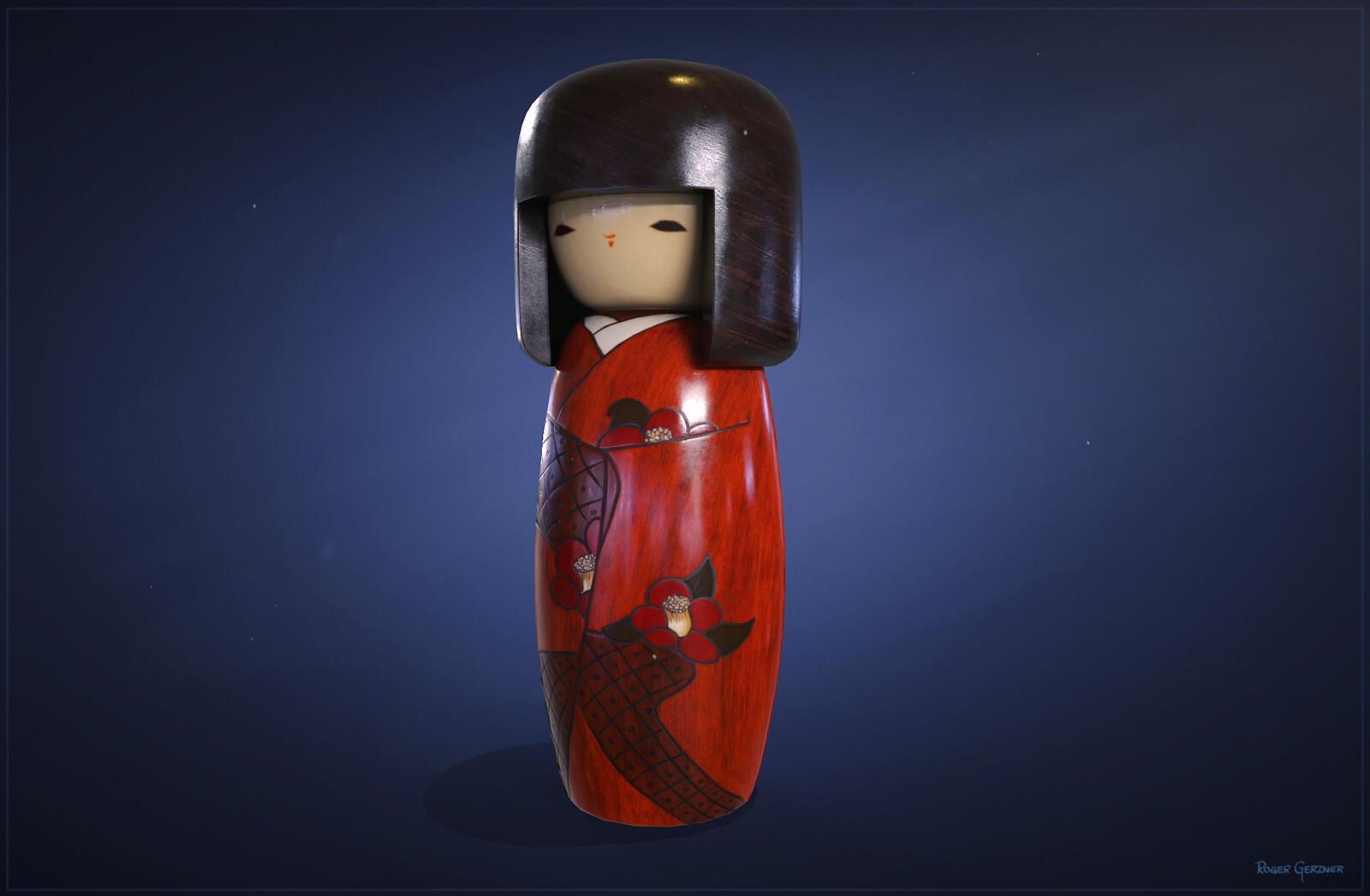 Kokeshi Sosaku Doll
