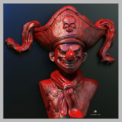Surajit sen buggy digital sculpture surajitsen may2021 l