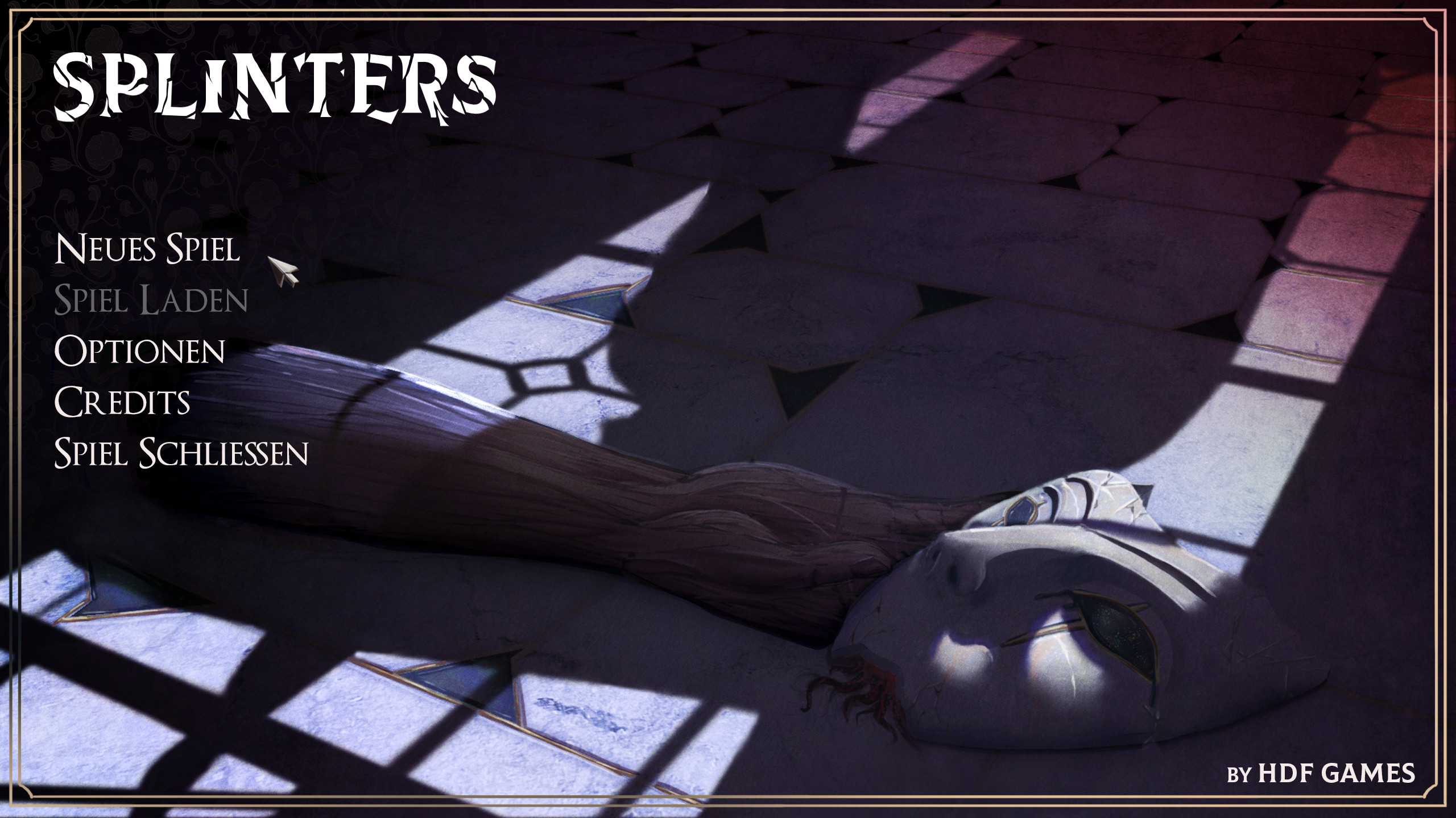 """Illustration used in the main manu of the unreleased game """"Splinters"""""""