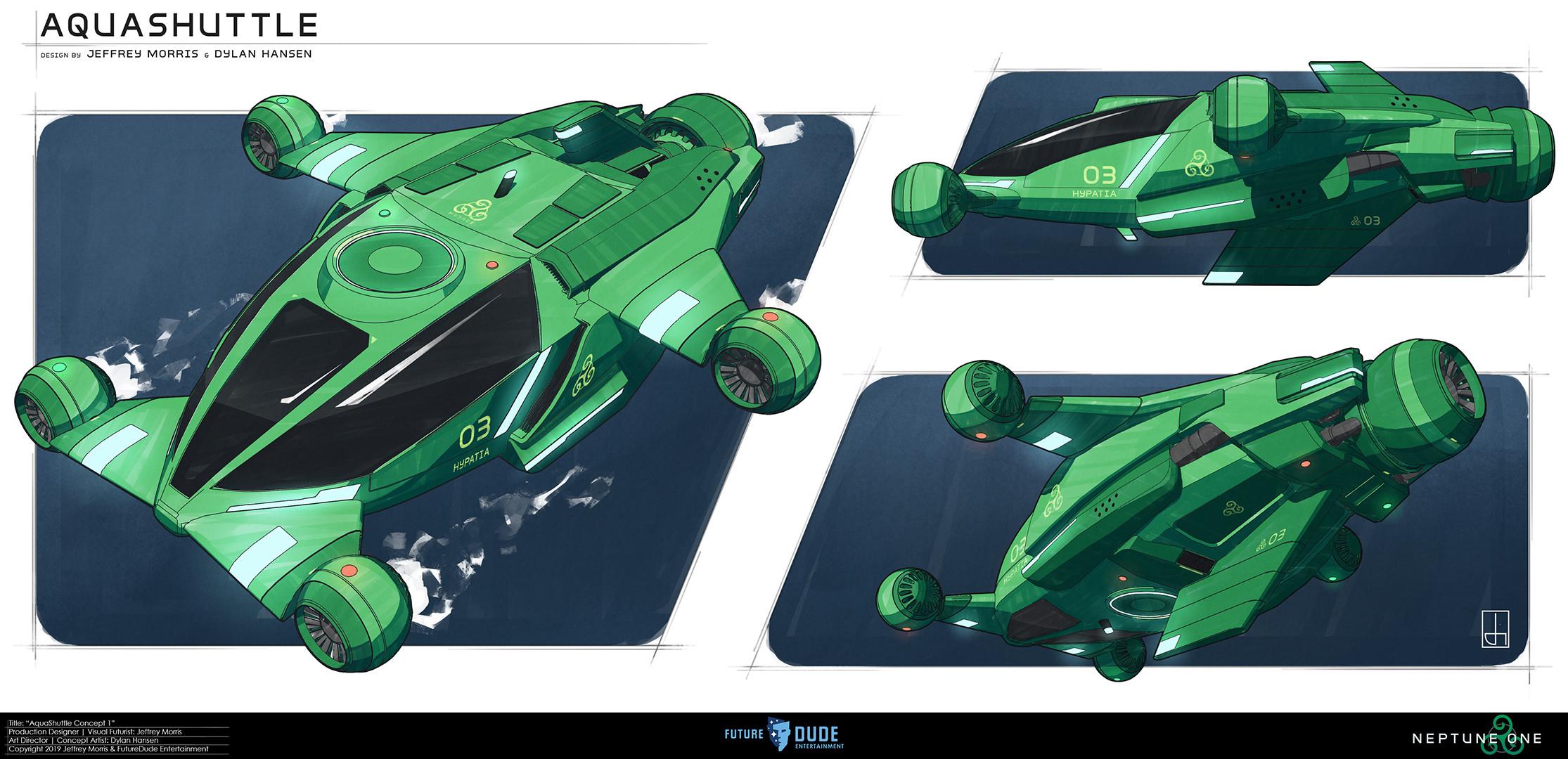 Original concept design by Jeffery Morris & Dylan Hansen
