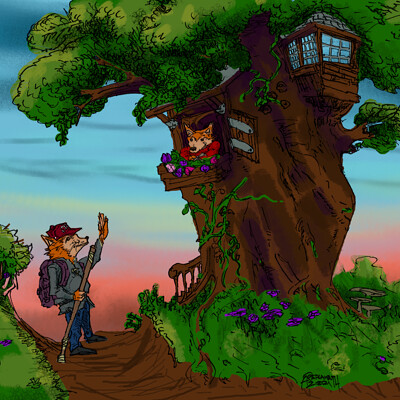 Fredrick lambuth treehousesalutation1