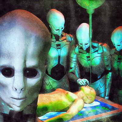 Luca oleastri alien probe