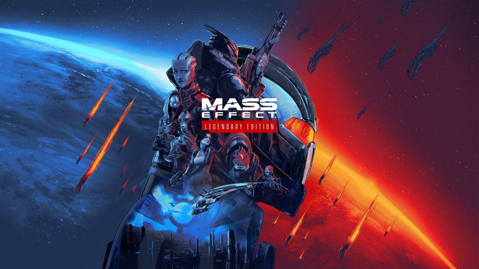 Mass Effect Legendary Cover Art and Key Art Creator