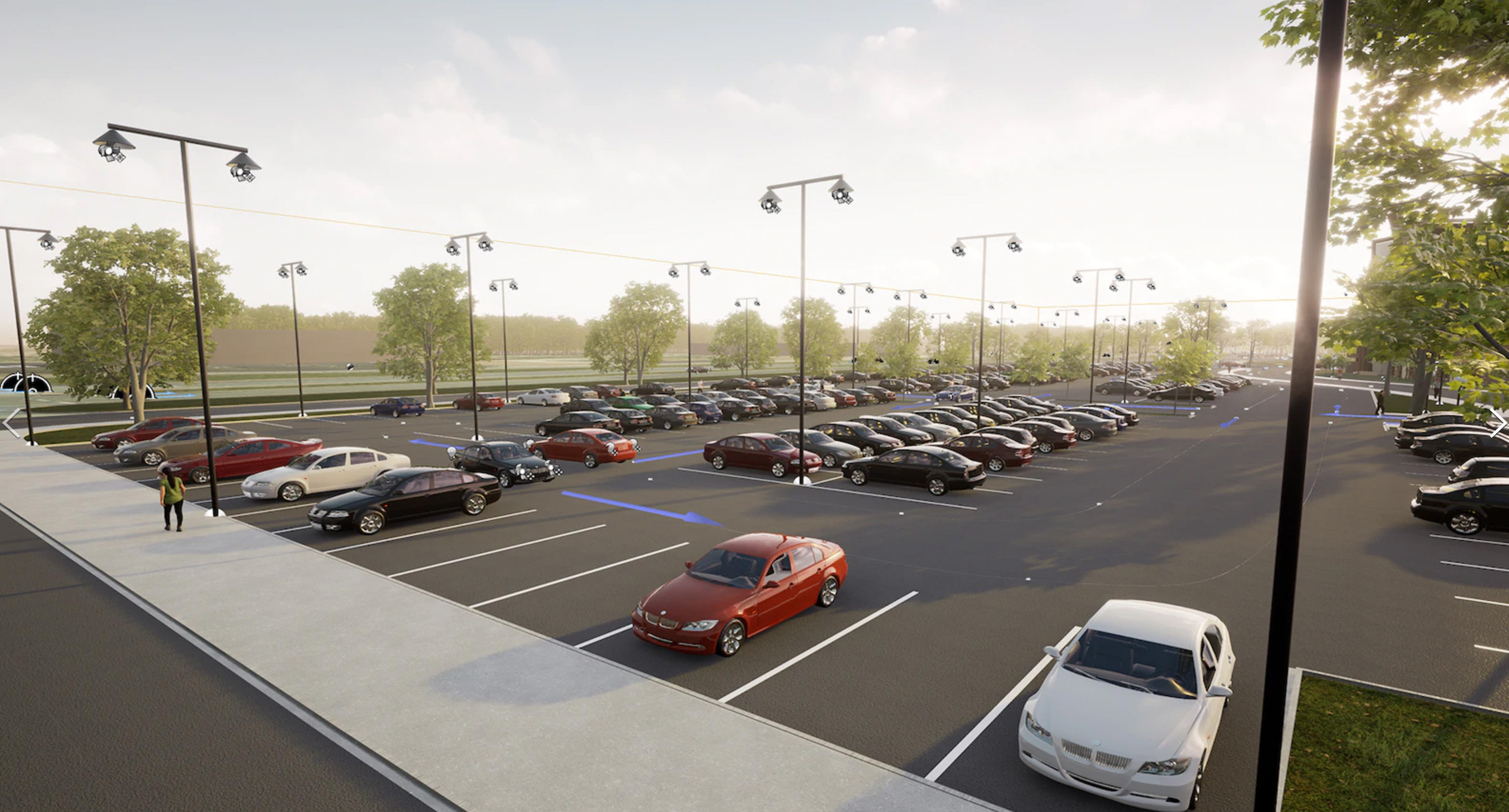 Arch Vis AI Traffic System I've developed for the Unreal Engine Marketplace. https://www.unrealengine.com/marketplace/en-US/product/arch-vis-ai-traffic-system