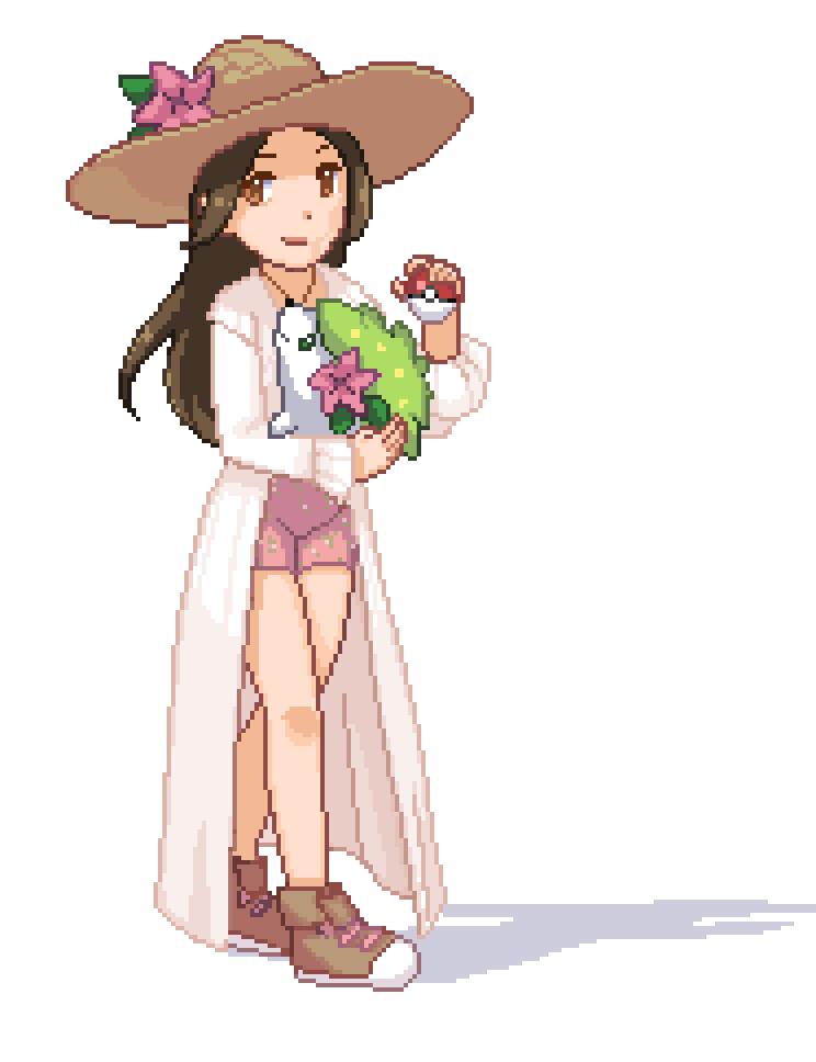 Grass type Pokemon Master